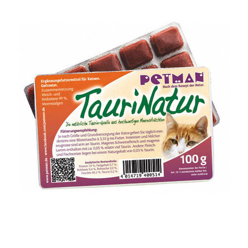 PETMAN TauriNatur - Geblistert 100g