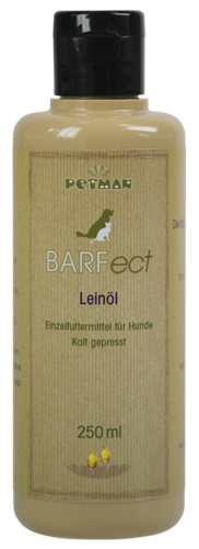 PETMAN BARFect Leinöl - PETMAN plus 250ml