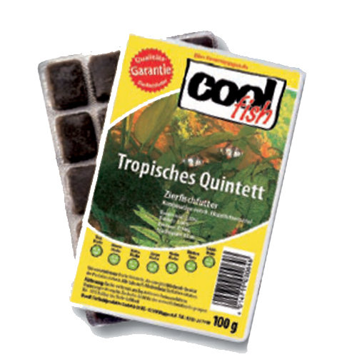 cool fish Tropisches Quintett  - Blister 100g