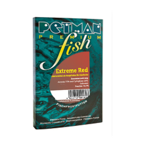 PETMAN fish - Extreme Red - Blister 100g