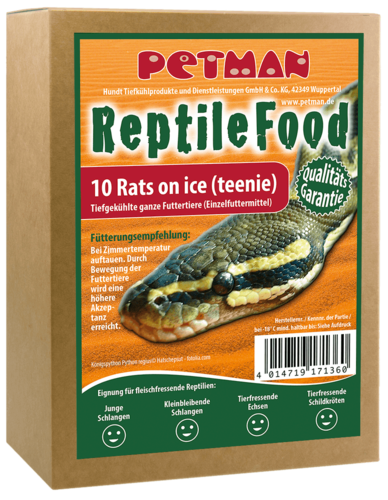 PETMAN Rats on Ice - teenie (35-60g) 10Stk.