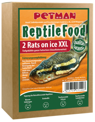 PETMAN Rats on Ice - XXL (320g) -Großpackung-1x20Stk.