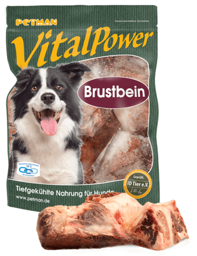 PETMAN Vital Power Brustbein vom Rind 1000g