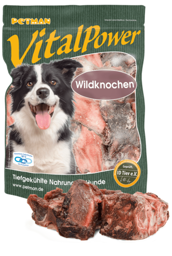 PETMAN Vital Power Wildknochen 1000g