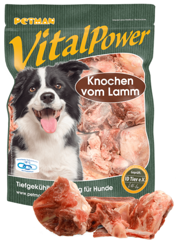 PETMAN Vital Power Knochen vom Lamm 1000g