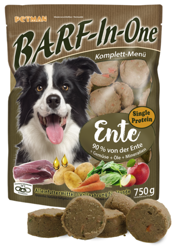 PETMAN BARF-In-One ENTE 750 g